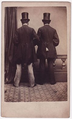 Backs to camera Photographed at Mr and Mrs Lenoxs Art and Photographic Studio, No. 11, Church Street, Sheffield [England].