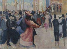 Ida Gerhardi (German, 1862 - 1927) The Picture of Dance (Tanzbild), 1916 Oil on canvas