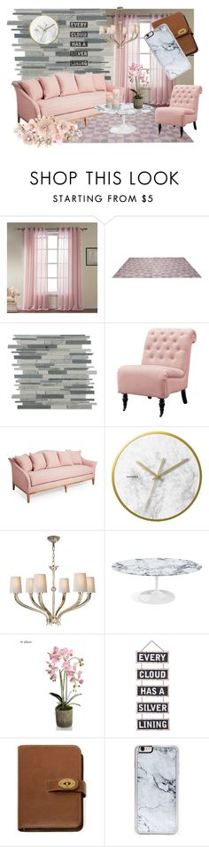 """Blush"" by imaginationplazastudios ❤ liked on Polyvore featuring interior, interiors, interior design, home, home decor, interior decorating, Home Decorators Collection, Visual Comfort, Silver Lining and Mulberry"