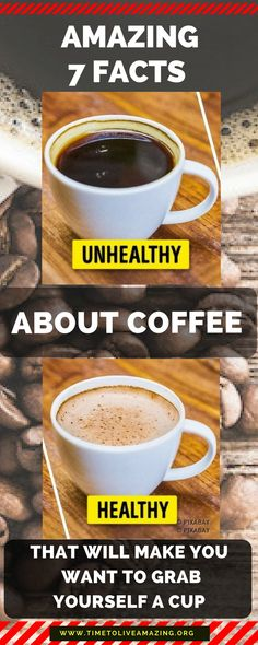 Amazing 7 Facts About Coffee That Will Make You Want to Grab Yourself a Cup - Time To Live Amazing