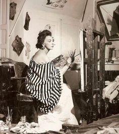Leonor Fini, Paris 1950's