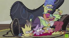 """We haven't heard a heck of a lot from John Kricfalusi since he created The Ren & Stimpy Show, which is a darn shame because the idiosyncratic and often downright creepy style of that program is a visual delight. Still, Kricfalusi has popped up here and there over the years, including as a guest director of the couch gag for a 2011 episode of The Simpsons, """"Bart Stops to Smell the Roosevelts."""" The grotesque animation style would be perfect for a """"Treehouse of Horror"""" couch gag, so that's…"""