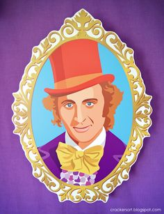 Wonka Party Printables available at http://www.etsy.com/shop/crackersart