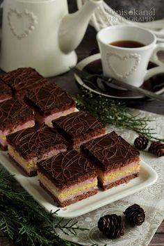 ♥ Málnakrémes szelet ♥ Tiramisu, Deserts, Ethnic Recipes, Sweet, Food, Cakes, Kochen, Essen, Postres