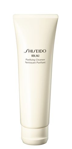 IBUKI Purifying Cleanser - Refreshing foam containing purifying micro-beads, mildly exfoliates while keeping essential moisture.