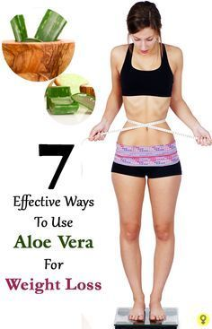7 Effective Ways To Use Aloe Vera For Weight Loss