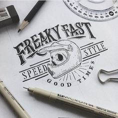 Another week went by freaky fast. By @millart_said #designspiration #lettering…