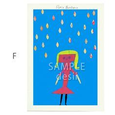 ポストカード5枚セット用の絵柄です。F商品はSAMPLE desiiの文字がないものになります。|ハンドメイド、手作り、手仕事品の通販・販売・購入ならCreema。