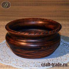 Керамическая миска Милава - гончарная посуда из глины купить в интернет магазине Рукоделец