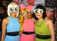 home made powerpuff girl costumes - Google Search