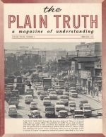 WILL THERE BE A Secret Rapture? Plain Truth Magazine February 1963 Volume: Vol XXVIII, No.2 Issue: