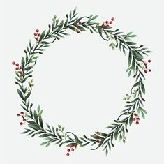 Weinachtskerzen Round christmas wreath vector watercolor style How to Play it Safe in a Casino or in Christmas Wreath Clipart, Christmas Wreath Illustration, Holiday Wreaths, Christmas Decorations, Christmas Clipart Free, Christmas Frames, Christmas Art, Christmas Wreath Image, Grapevine Christmas