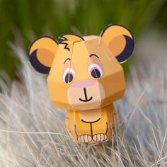 Simba Cutie Papercraft - click on the picture to go to the link where you can print out Simba!