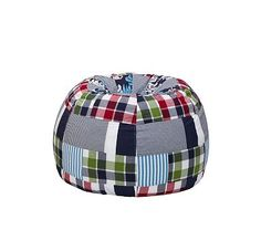 Navy Surf Patch Anywhere Beanbag #PotteryBarnKids