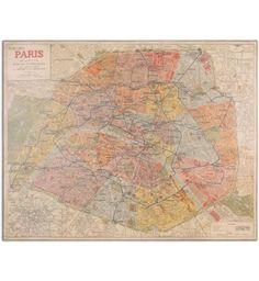 Uttermost - 33800 - Paris Nouveau Plan Giclee #Artwork