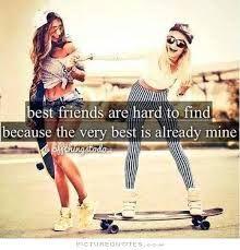 every brunette needs a blonde best friend - @kjohston