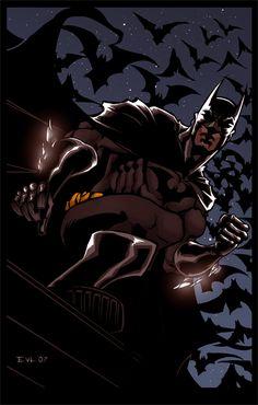 The EVL Dark Knight by *ErikVonLehmann