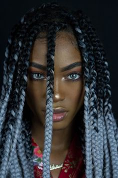 Beautiful Pictures of an Amazing Braided Hairstyles Box Braids Hairstyles, Curly Hair Styles, Natural Hair Styles, Coiffure Hair, Girls Braids, Black Girls Hairstyles, Beautiful Eyes, Beautiful Women, Pretty Face