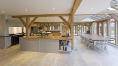 Traditional Oak Interior, by Roderick James Architects.