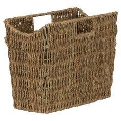 Tesco Seagrass Magazine Basket