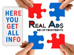 Hurry up!! Get benefited with Real Ads :)