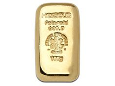 Heraeus 100 Gram Cast Gold Bullion Bar 999.9 Fine