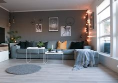 Spisebord - DIY   HVITELINJER Ikea, Couch, Photo And Video, Interior, Diy, Furniture, Home Decor, Settee, Decoration Home