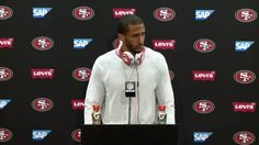 Colin Kaepernick Bears Post-game Presser