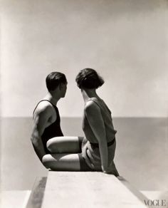 Vogue, July 1, 1930 Swimmers