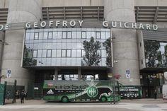 Entrée du stade Geoffroy Guichard avant la rencontre ASSE - Sochaux (16/09/2012).