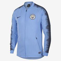 Nike Manchester City FC Windrunner Jacket New Dark Blue Volt Football Jackets, Men's Football, Manchester City, Logo Nike, Windrunner Jacket, Athletic Looks, Orange Fashion, Nike Fashion, Nike Men