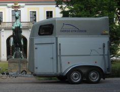 Böckmann Voll Alu Anhänger für 2 Pferde
