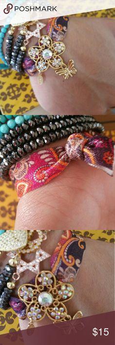 Spotted while shopping on Poshmark: 18k gold plated charm bracelet! #poshmark #fashion #shopping #style #Jewelry