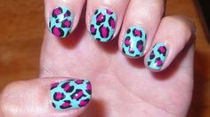 How to do leopard print nails