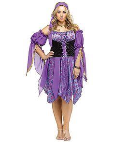 Gypsy Magic Plus Size Adult Womens Costume - Spirithalloween.com