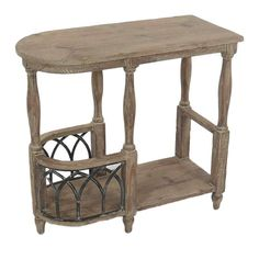 Wooden console in brown color with metallic black details. A both elegant and multifunctional piece for any living area. Decor, Wooden Console, Furniture, Console Furniture, Table, Wooden, Consoles, Drawers, Home Decor