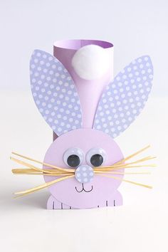 This list of simple Easter crafts for kids is absolutely adorable! From egg carton chicks to cotton ball bunnies there are tons of Easter craft ideas here! images paper crafts Simple Easter Crafts for Kids - One Little Project Kids Crafts, Paper Plate Crafts For Kids, Fun Easy Crafts, Bunny Crafts, Easter Art, Crafts For Kids To Make, Easter Crafts For Kids, Toddler Crafts, Art For Kids