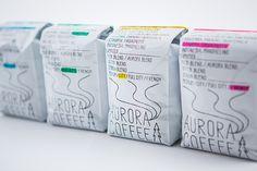 AURORA COFFEE / アカオニデザイン akaoni Design