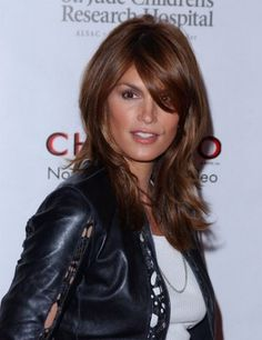 Cindy Crawford Hairstyles January 2017