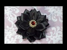 Kanzashi Flower, How to do, Tutorial, DIY
