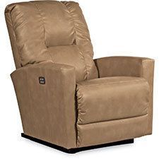 """You may very well find yourself asking, """"How does Casey do that?"""" See, not only does it let you raise and lower your legs and back independently or together, it also rocks. La Z Boy, Leather Recliner, Very Well, Chair, Modern, Furniture, Nursery, Knitting, Home Decor"""