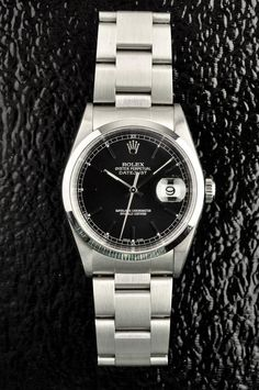 PRE-OWNED Stainless Steel ROLEX DATEJUST WATCH