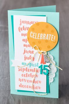 December 2015 Paper Pumpkin alternative by Stampin' Up!