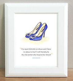 Sex and the city shoe quotes