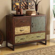 3 Drawer 1 Cabinet Chest