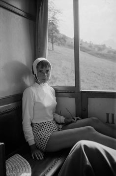 I just realised that I own the same shorts that Audrey Hepburn is wearing in this photo
