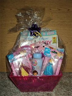 Big Sister Gift Basket We Are Going To Make One For My Daughters Teacher Who Has A Toddler Daughter And Due With Baby This Summer