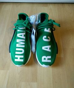 3e9417a00 ADIDAS NMD PHARRELL WILLIAMS HUMAN RACE SAMPLE SIZE 9 US  adidas   AthleticSneakers