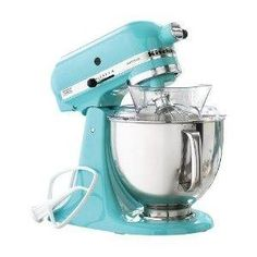 Can you say obsession? I LOVE this Mixer! I have it in black and will have to live with that but YOU can have it in the OFFICIAL Tiffany & Co teal!