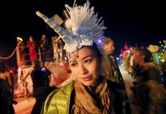 70,000 revellers head home after spending the week partying at Burning Man in the Black Rock Desert.